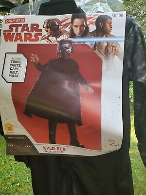 Star wars Kylo Ren Child COSTUME Small 4-6