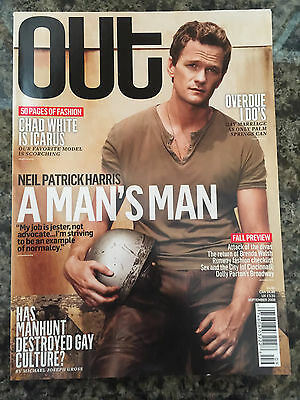 Neil Patrick Harris Out Magazine 2008 Gay interest Tony Winner
