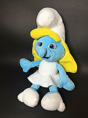 The Smurfs Smurfette Girl Smurf Stuffed Plush 16