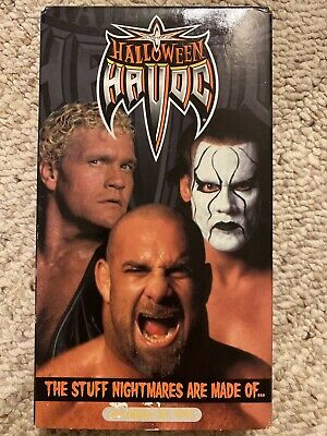 WCW Halloween Havoc 99 1999 VHS Sting vs Goldberg WWE WWF Hulk Hogan