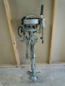 BRITISH SILVER SEAGULL OUTBOARD MOTOR. Lowood Somerset Area Preview