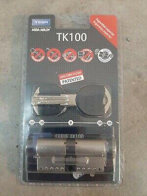 Bombin alta seguridad TK100 30×30 niquel. Nuevo sin desprecintar