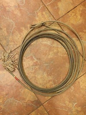 Used Cowboy Lariat Team Rope