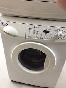 Like new condition Maytag stackable washer and dryer