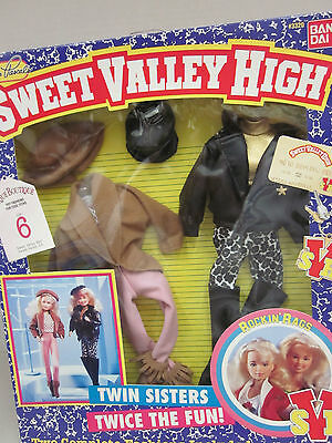 Sweet Valley High - ROCKIN' RAGS - 2 Complete Fashions - Barbie Size - New on Rummage