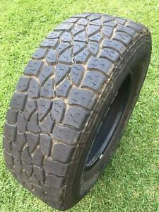 Tyres 4WD 265/70/R17 x 4