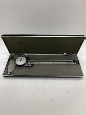 Central Tools 0-6 In Stainless Steel Dial Caliper Made In Japan