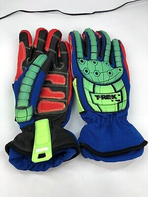 Magid Safety Work Gloves Insulated Winter Leather Coated Cut Resistant L Trx654w