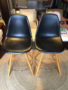 Eames style counter stools