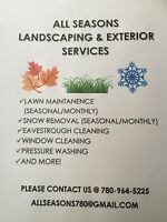 NOW SIGNING SUMMER CONTRACTS/ ALL SEASONS LANDSCAPING
