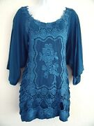 Womens Lace Tops 2X