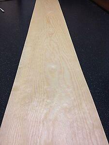 Pine veneer - wood veneer sheet - 2250mm x 250mm - real wood