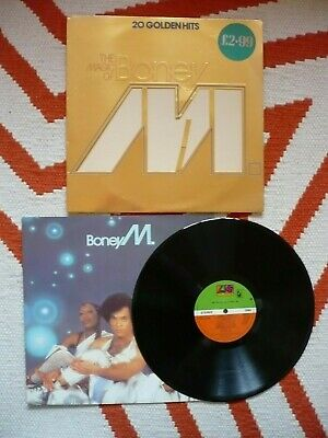 Boney M The Magic Of Vinyl 20 Golden Hits 1980 Hansa A5B4 Die-Cut Cover LP READ!