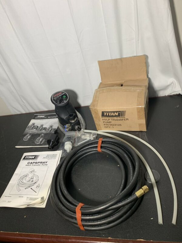New Titan Capspray 35 PSI HVLP Transfer Pump 0524125
