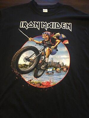 Iron Maiden Dated Minneapolis Event Shirt XL