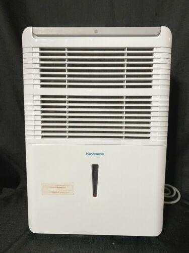 Keystone KSTAD50B White 50 Pint Dehumidifier - Tested