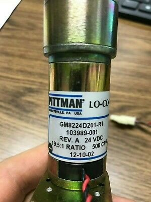 Ametek Pittman Gm8224d201-r1 103989-001 Rev A
