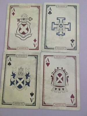 Swap Playing Cards 4 Single Aces Different