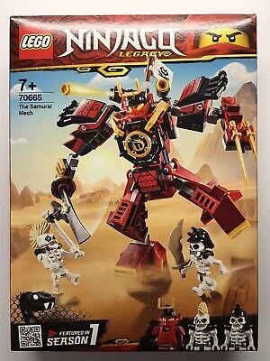 LEGO 70665 Ninjago Legacy The Samurai Mech Masters Of Spinjitzu Toy Set (NEW)