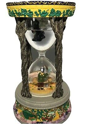 "The Wizard of Oz 1999 Hourglass Snow Globe San Francisco Music Box Co""As -"