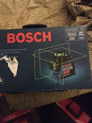 Bosch 360 Degree Three-plane Leveling And Alignment-line Laser Gll3-300g
