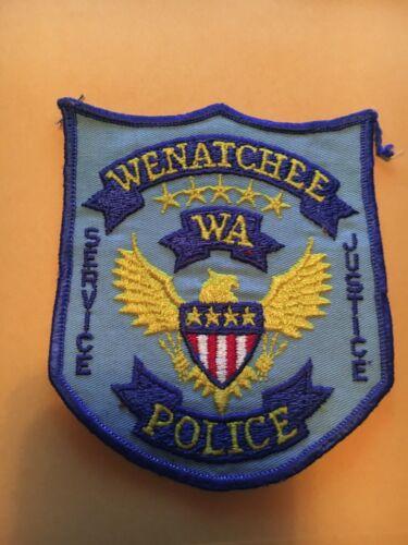 Wenatchee Washington Police patch