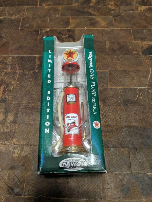 Limited Edition Wayne Gas Pump Replica. New in box.