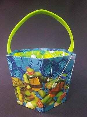 Teenage Mutant Ninja Turtles  Halloween, Easter, Or Birthday Party Decor Bucket](Ninja Turtle Halloween Bucket)