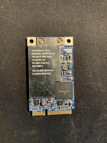 APPLE BCM94321MC AirPort Wireless Wifi Card 020-5280-A