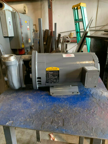 Flowserve Condenser Pump (Stainless Steel) 7 1/2-1.9 HP 208V 3450/1725 RPM