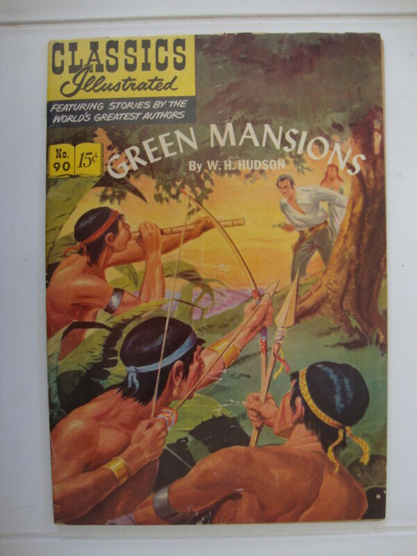 Classics Illustrated #90 HRN 89 G+ Green Mansions