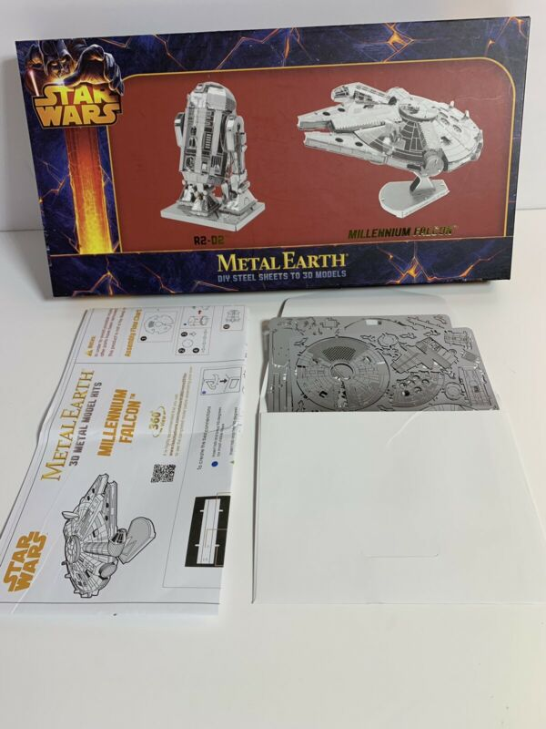 Metal Earth Star Wars Millennium Falcon Steel Model Kit