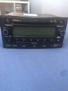 Genuine 2006 Toyota RAV4 cruiser CD stereo player Barden Ridge Sutherland Area Preview