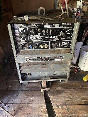 Used Lincoln Idealarc R3r-300 300 Amp Dc Arc Welder Tig Stick