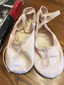 Ballet shoes size 6 1/2 pink