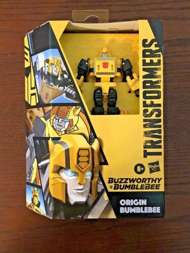 Transformers Buzzworthy Origin Bumblebee Cybertronian Deluxe Generations NEW