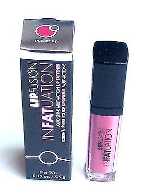 LIPFUSION - inFATuation Plumper - PUCKER UP - PLUMPING  Lip Fusion Gloss - ROSE