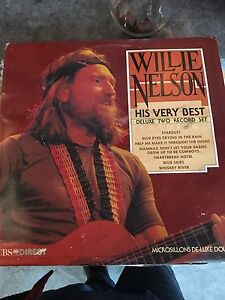 Willie Nelson used lp