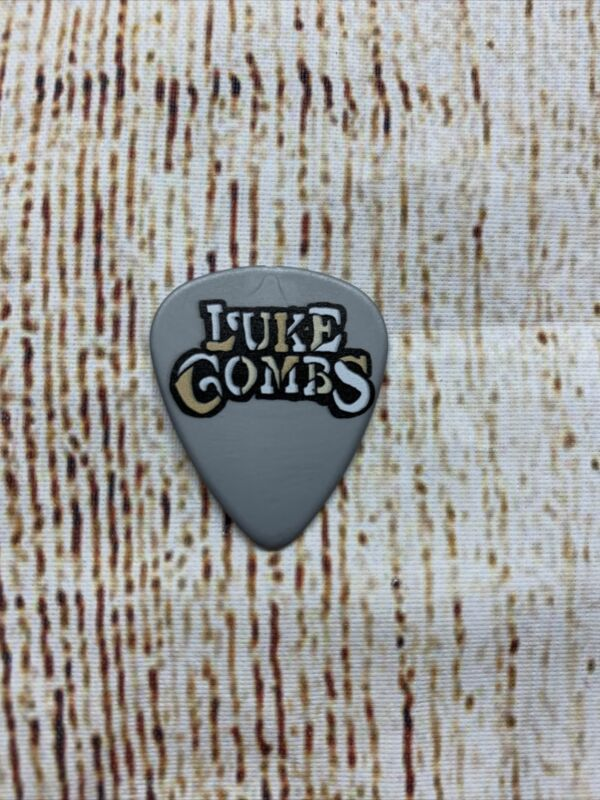 Luke Combs Gray Guitar Pick ONE # AWAY