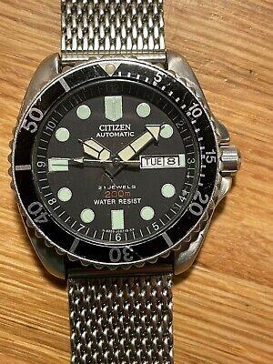Vintage Citizen Watch - 200m Automatic Scuba Diver - great example