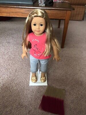 American Girl Doll Isabelle with hair extension