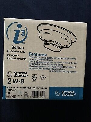 System Sensor 2w-b I3 Series 2-wire Photoelectric I3 Smoke Detector