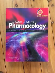 Rang And Dale Pharmacology Book Pdf