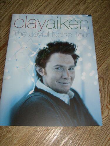 Clay Aiken Concert Program    The Joyful Noise Tour