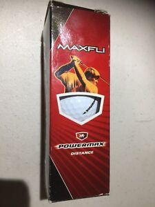 Maxfli Powermax Distance 1 pack of 3 Golf Balls