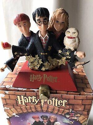 Harry Potter Warner Bros 2001 Stocking Holder Vintage Rare Box Christmas Holiday