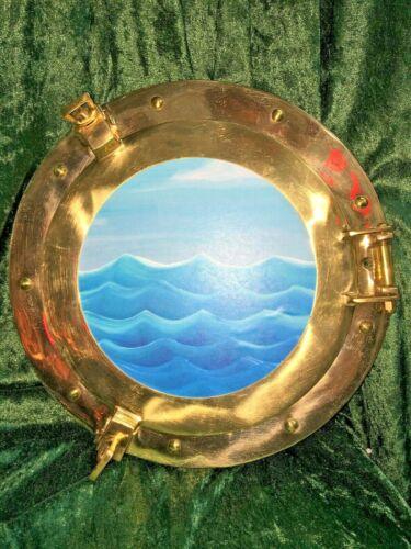 Brass Porthole Photo Frame