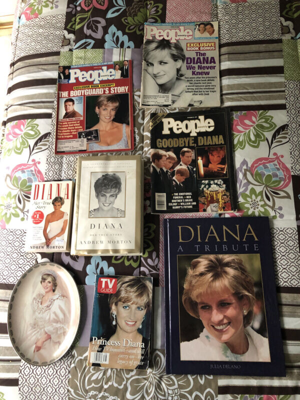 Princess Diana Memorabilia