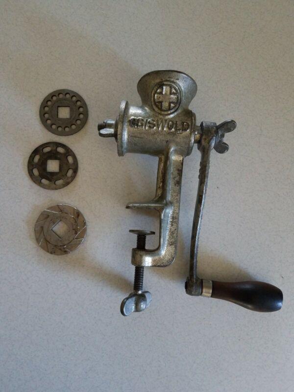 Griswold Cast Iron Grinder No. 0