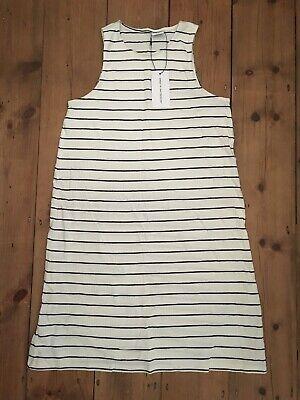 jacqueline de yong stripe high neck dress medium